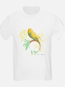 Pastel Green Parakeet T-Shirt