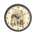 Masons Meeting Wall Clock