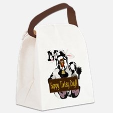 Cute Turkey day Canvas Lunch Bag
