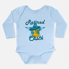 Retired Chick #7 Long Sleeve Infant Bodysuit