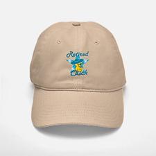 Retired Chick #7 Baseball Baseball Cap