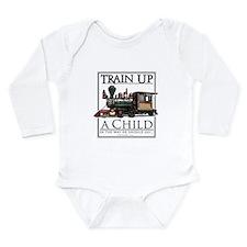 Tracker Long Sleeve Infant Bodysuit