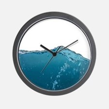 Funny Water Novelty Humor art Wall Clock