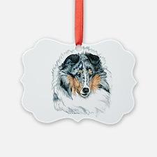 Shetland Sheepdog, Blue Merle Ornament