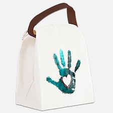 Unique Hands Canvas Lunch Bag