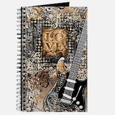 Cute Vintage guitar Journal