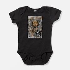 Guitar Love Guitarist Music Design Baby Bodysuit