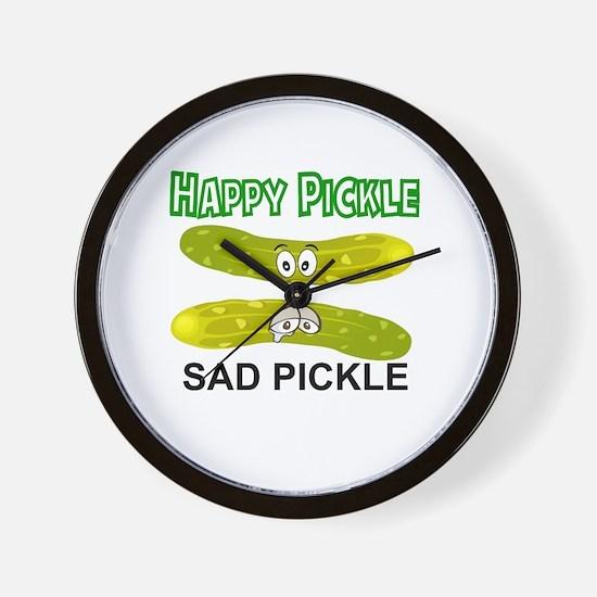 Cute Pickle Wall Clock