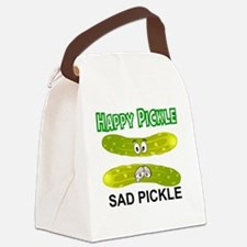 Cool Pickle Canvas Lunch Bag