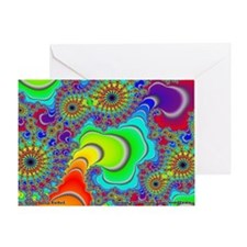 Fractal R~14 Greeting Card