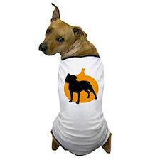 Pit Bull Terrier Halloween Dog T-Shirt