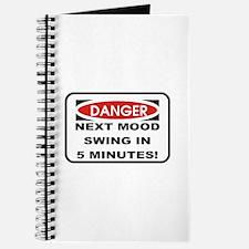 Danger Next Mood Swing in 5 M Journal