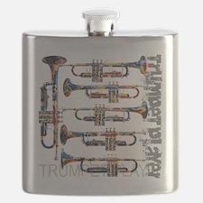 Unique Trumpet Flask