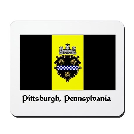 Pittsburgh PA Flag Mousepad