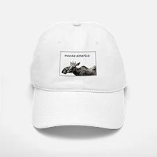 Moose America Baseball Baseball Cap