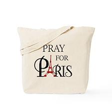 Pray For Paris Tote Bag