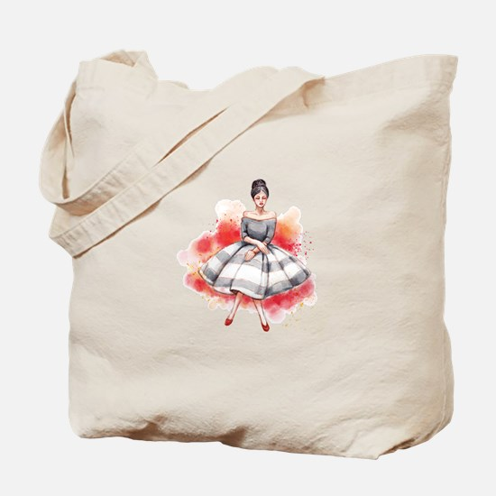 Pretty Lady Tote Bag