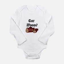 Logging Long Sleeve Infant Bodysuit
