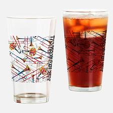 Unique Trombone Drinking Glass