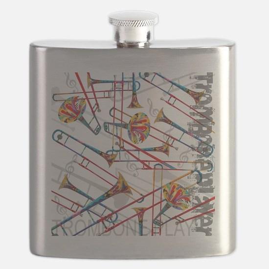 Unique Colored Flask