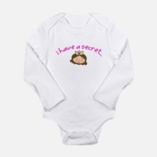Unique Soon to be big sister Long Sleeve Infant Bodysuit