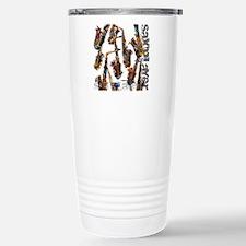 Saxophone Player Musica Travel Mug