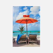 Cool Bora bora vacation Rectangle Magnet