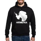 Antarctica Hooded Sweatshirts
