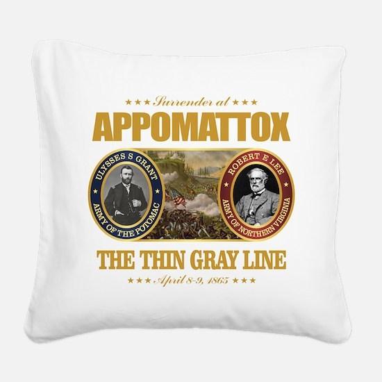 Appomattox (FH2) Square Canvas Pillow
