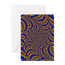 Fractal C~12 Greeting Card
