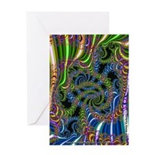 Fractal C~20 Greeting Card