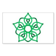 Celtic Knot 107 Rectangle Decal