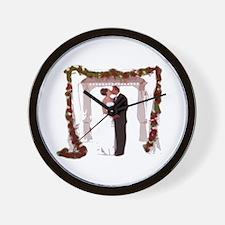 Virtual Conceptions Wedding Wall Clock