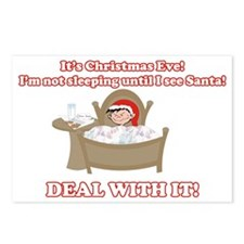 Christmas Morning Kid Postcards (Package of 8)