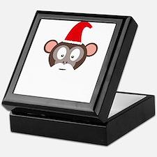Monkey Santa Keepsake Box