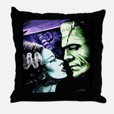 Bride and Frankie Throw Pillow