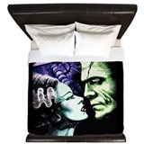 Horror movie Luxe King Duvet Cover