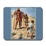David and Goliath - Brock - Mousepad
