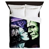 Frankenstein and bride Duvet Covers