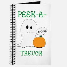 Trevor Peek A Boo Halloween G Journal