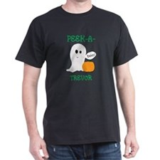 Trevor Peek A Boo Halloween G T-Shirt