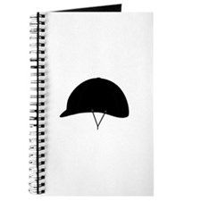 Horse riding hat Journal