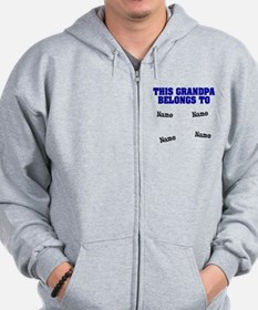 This grandpa belongs to Zip Hoodie