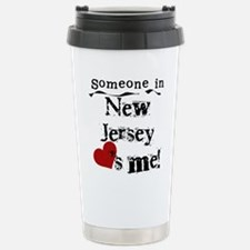 Funny New jersey Stainless Steel Travel Mug