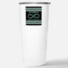 Infinity 25th Wedding A Travel Mug