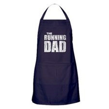 The running dad Apron (dark)