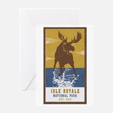 Unique National parks Greeting Card
