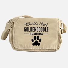 Worlds Best Goldendoodle Grandma Messenger Bag