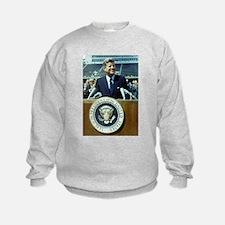 Funny John f kennedy is Sweatshirt