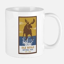 Isle Royale Moose National Park Mugs